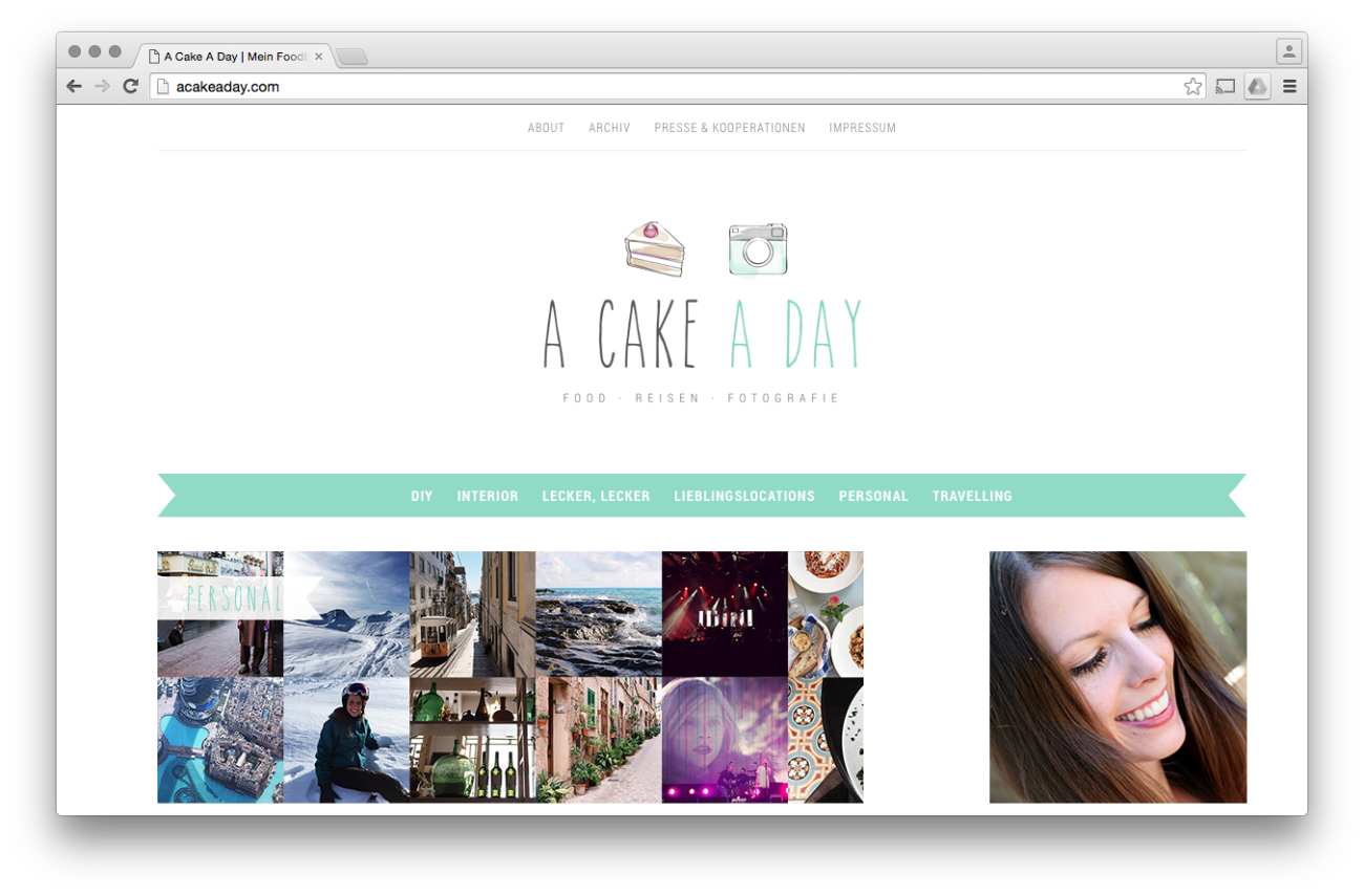 Blog: a Cake A Day