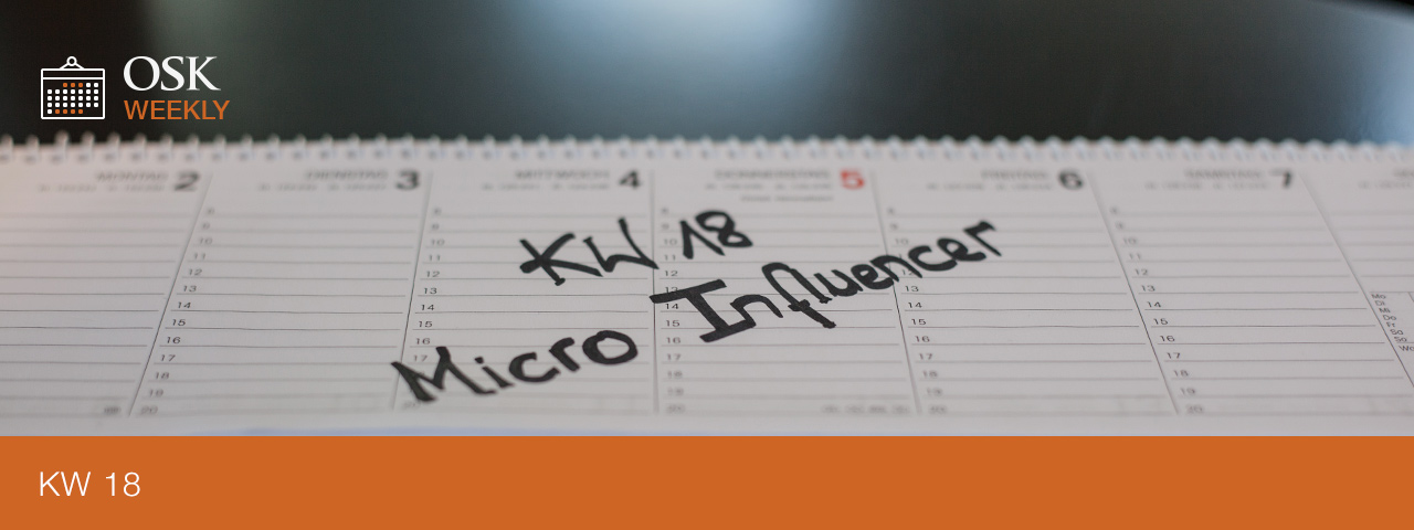 OSK Weeky Micro Influencer Title