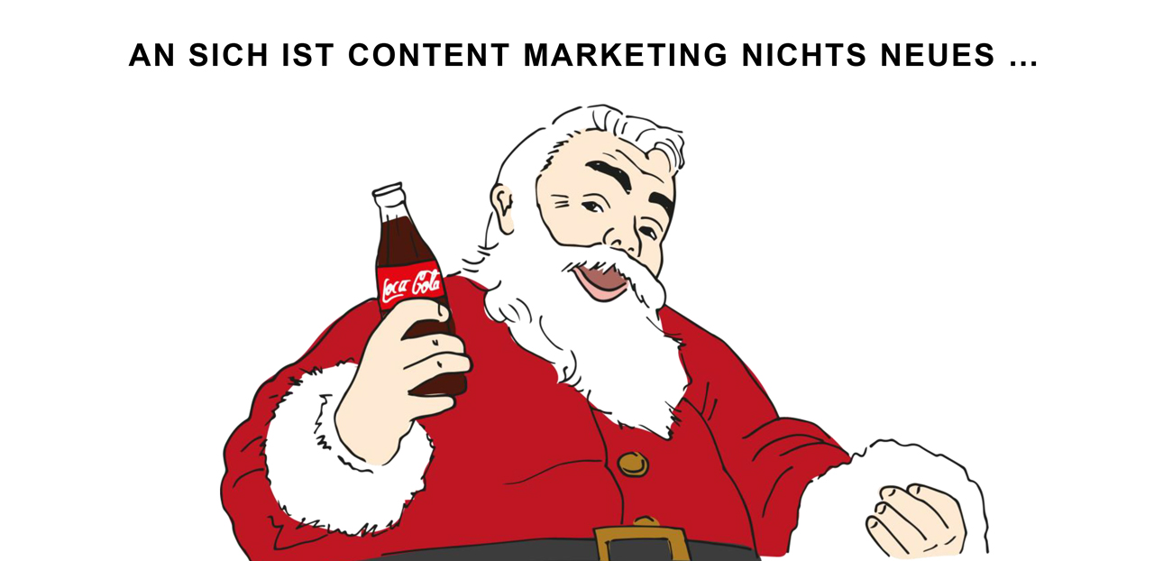 grafik_contentmarketing-Weihnachtsmann-Content Marketing