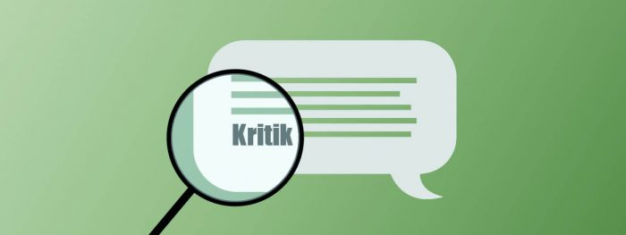 Community Management - Bild Kritik