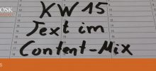 OSK Weekly KW 15 - Text im Content-Mix - Titel